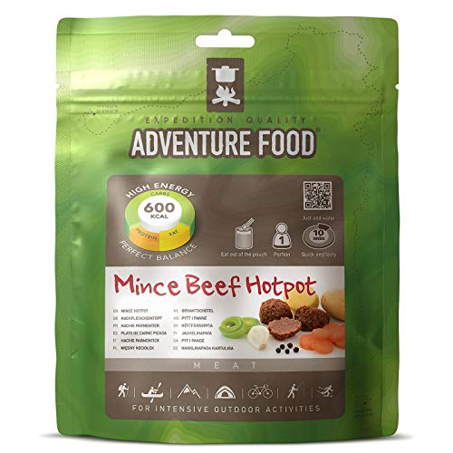 TREKMATES ADVENTURE FOODS MAIN MEALS MINCE BEEF HOTPOT FOR 1 PERSON (GREEN POUCH)
