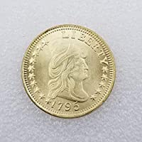 絶妙なコインアンティーククラフト1795アメリカンゴールドコインフォーリンシルバーダラーシルバーラウンドコイン