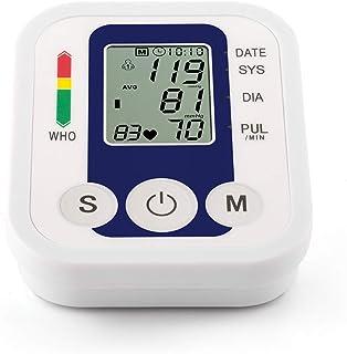 YMHL Esfigmomanómetro para la Parte Superior del Brazo: esfigmomanómetro clínico Profesional, 2 usuarios, 99 memorias de Lectura, Brazalete de Amplio Rango Suave