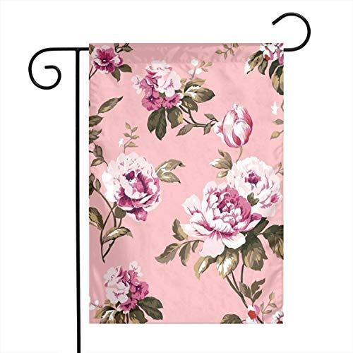 Axige888 Home Sweet Home Tuinvlag, Indiaas tapijt Paisley Ornament Patroon. Etnische Mandala handdoek, 12x18 inch