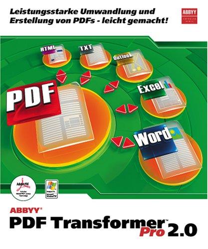ABBYY PDF TRANSFORMER 2.0 PRO