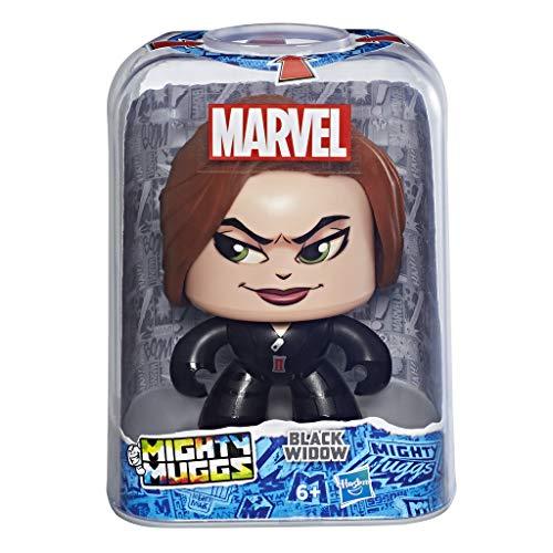 Marvel Classic- Mighty Muggs Figura coleccionable de Marvel, Black Widow, Multicolor, Estándar (Hasbro E2167EU4) , color/modelo surtido