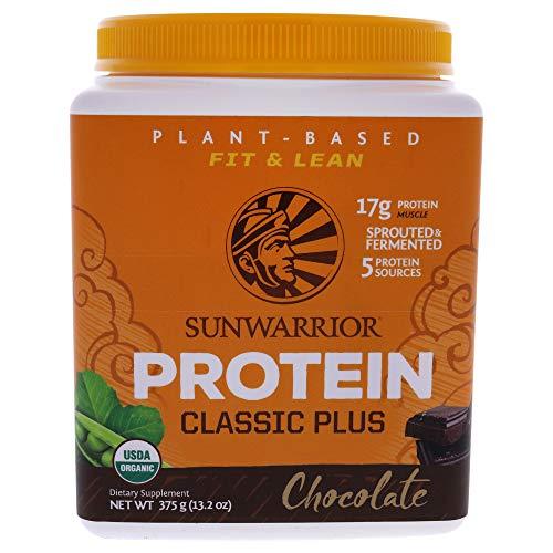 Sunwarrior Classic Plus Chocolate Protein Powder, 375 g 96918