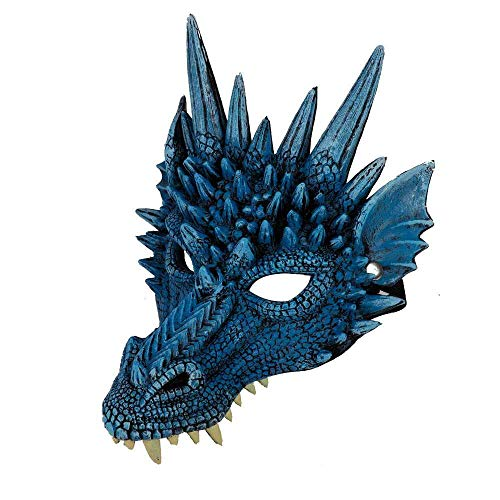 zhuao halloween dinosaurus masker, dier latex kap, horror cosplay masker