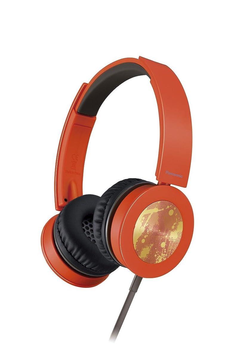 遺体安置所ラケット指紋パナソニック 密閉型ヘッドホン DTS対応 オレンジ RP-HXS400-D