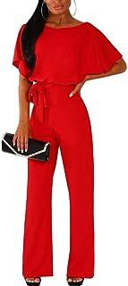 livraison gratuite nouveau design large choix de couleurs Amazon.fr : Rouge - Combinaisons et combishorts / Femme ...