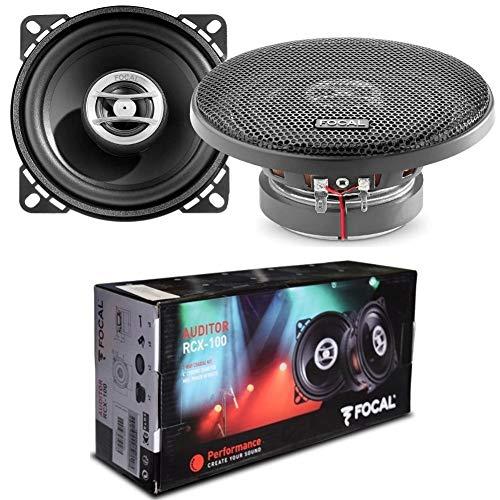 2 Haut-parleurs Compatible avec Focal AUDITOR RCX-100 coaxial 2 Voies 10,00 cm 100 mm 4