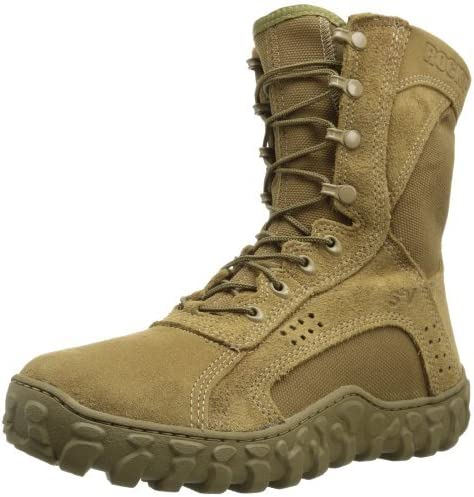 Spring new work one after another Rocky mens S2V Tactical Military Boot 4 Coyote M Popular brand in the world Brown US