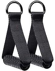 2 stuks Heavy Duty Oefengrepen, weerstand Oefening Band Handvatten, Fitness Strap Handvatten, voor Gym Yoga Krachttraining Tube Handvatten Training