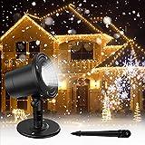 Gaiatop Christmas Snowflake Projector Lights, Highlight Version Led...