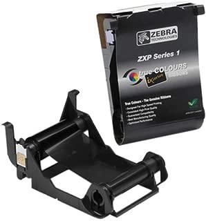 Zebra Technologies 800011-101 Load-N-Go Monochrome Ribbon for ZXP Series 1 Card Printer, Black, 1000 Labels per Roll