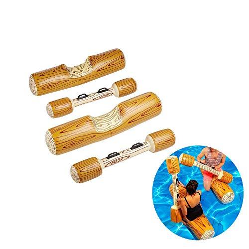 ZJDU Flotador Inflable De Juegos De Deportes Acuáticos,Piscina Inflable Flota Piscina Party Play Boat Raft Collision Toys, Fila Flotante para Niños
