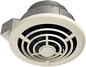 Broan-NuTone 8210 8 Vertical Discharge and 7-Inch Round Duct Ceiling Fan, 210CFM,Silver