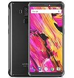 Vernee V2 Pro - FHD da 5,99 pollici (rapporto 18: 9) IP68 Impermeabile / Antiurto Smartphone Android 8.1, Octa Core da 6 GB + 64 GB, 6000 mAh carica rapida della batteria, quattro fotocamera (21 MP + 5 MP + 13 MP + 5 MP), GPS / NFC - Nero