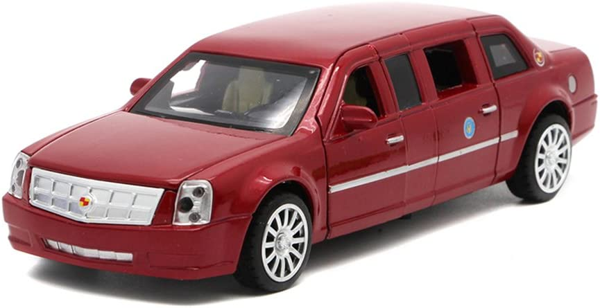 Birthday Berry President 1:32 Limousine Car Electric Toy Sound /& Light White