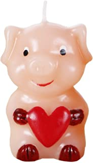 Joewyle Cake Topper Birthday Candles Decorations Little Pig