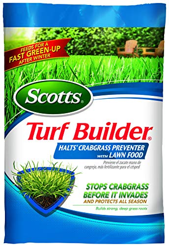 Scotts Turf Builder Halts Crabgrass Preventer with Lawn Food, 15,000 sq. ft.