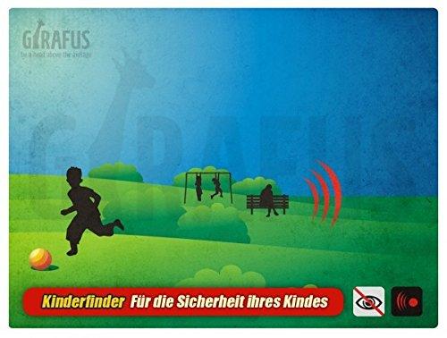 Girafus® Guardian Angel für 1 Kind Kinderfinder, Haustierfinder, Allesfinder mit Alarm Diebstahlschutz Abbildung 2