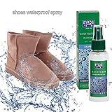 auspilybiber Ore Impermeables para Zapatos, Botas y Chaquetas, Nano Dry Shoes Spray Impermeable, Protector hidrofóbico Calzado Repelente al Agua 100ml