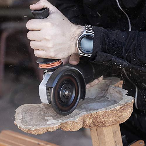 ARBORTECH Industrial Woodcarver | Ø 100 mm Hartmetall Frässcheibe für Winkelschleifer zur Holzbearbeitung - 4
