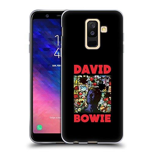 Head Case Designs sous Licence Officielle David Bowie Tonight Art D'Album Coque en Gel Doux Compatible avec Samsung Galaxy A6 Plus (2018)
