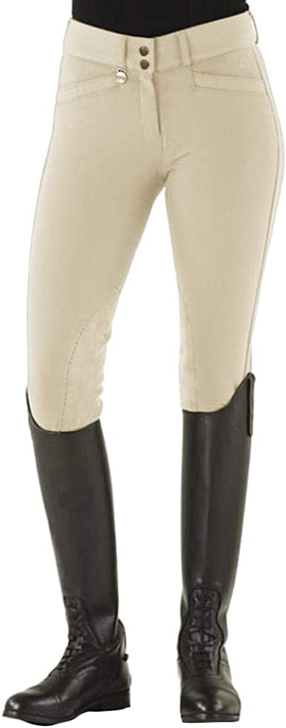 Ovation low-pricing 2021 autumn and winter new Women's Celebrity Slimming Knee 30 Tan Dx Breeches Patch