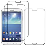 ebestStar - Pack x3 Protector Pantalla Compatible con Samsung Galaxy Tab 3 8.0 SM-T310 Películas Flexibles Anti Huellas Anti arañazos, Instalacion Sin-Burbujas [Aparato: 209.8 x 123.8 x 7.4mm, 8.0'']