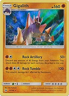 Gigalith - 71/149 - Holo Rare - Pokemon Sun & Moon