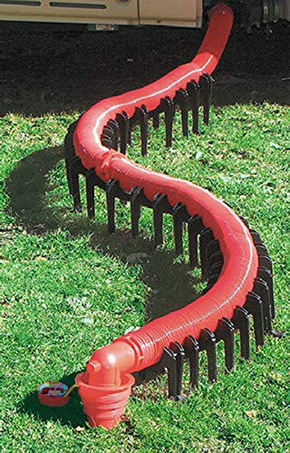 Motorhome RV and Trailer Plumbing Black Water Slunky, Sewer Hose Support 20'