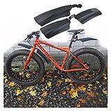 YINHAO 20 Pulgadas 26 Pulgadas eléctricas Plegable Bicicleta Barro de Barro Bicicleta Manguera Manguera Gorda Bicicleta Fender fatbike MTB Bicicletas de Ciclismo Piezas