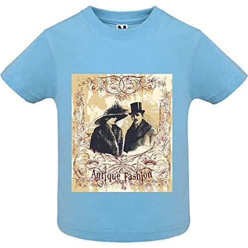 T-Shirt - Antique Fashion - Bébé Garçon - Bleu - 2ans