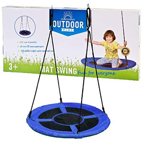 Outdoor 0710021 Play Mat Swing 100 cm, Noir, 6,5 x 35 x 73 cm