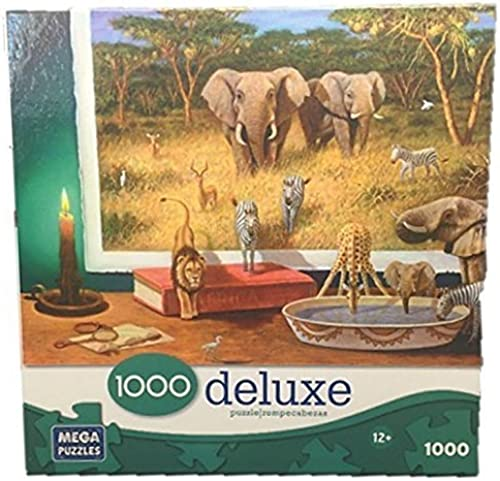 Deluxe 1000 Piece Jigsaw Puzzle  Visitors by Candlelight by Mega Puzzles