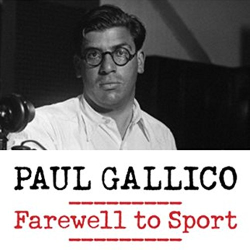 Farewell to Sport audiobook cover art