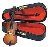 Gewa 980610 Instrument miniature Violoncelle avec Archet/Etui 11 cm