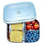 Alpin Loacker Edelstahl Lunchbox Groß 1800ml Brotdose