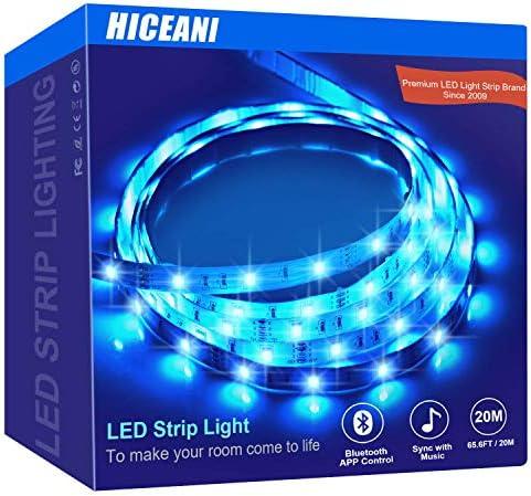 Led Strip Lights 65 6ft Music Sync Led Light Strip Premium Home D cor Multicolor RGB Led Strip product image