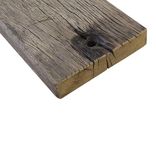 Steigerhoutpassie - Eiken - Wagondeel Breed Geborsteld - 90x18x4.2cm