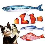 Dioxide 5PCS Giocattolo Catnip per Gatti, Simulazione Peluche a...