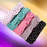 Lurrose 5pcs Kids Headband Elastic Super Soft Barelle Head Wrap Hair Accessori Capelli Ban...