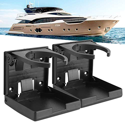 Portavasos plegable, portavasos de 2 piezas, para caravana, barco marino para coche