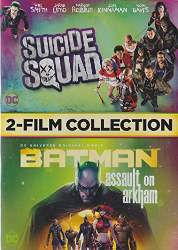 Suicide Squad / Batman Assault on Arkham 2-Film Collection