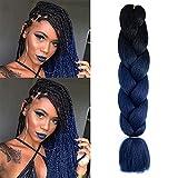 EAWWII Jumbo Braiding Hair Synthetic crochet...
