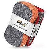 EASY EAGLE Paños de Microfibra e Esponja Lavado Kit de Limpieza, 1200GSM Toalla Secado e...