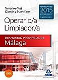 Operario/a Limpiador/a de la Diputación Provincial de Málaga. Temario y Test (Común y Específico)