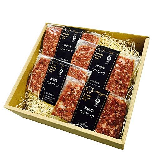 米沢牛コンビーフセット〔100g×4〕