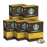 Starbucks by Nespresso Coffee Capsules for Nespresso Vertuo Machines — Blonde Espresso Roast — 50 Count