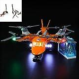 Juego De Luces USB Compatible Con Lego City Expedición Ártica De Transporte Aéreo Del Juguete Del Helicóptero 60193, Juego De Luces LED Para Los Bloques De Construcción De Modelos (No Incluido Modelo)