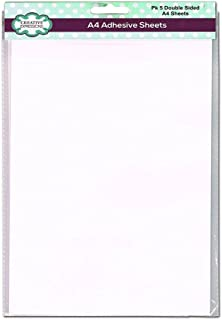 Creative Expressions Double Sided A4 Adhesive Film Sheets - 5 sheets