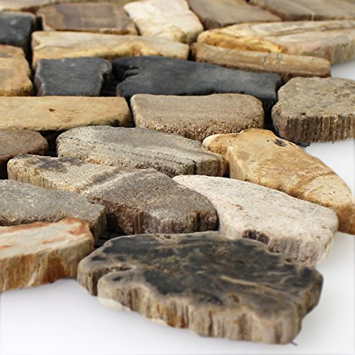 Marmor Bruch Mosaik Fliesen Antik Oak